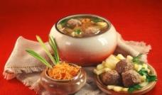 肉丸汤图片