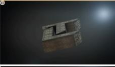 三维超强质感震撼LOGO标志标题AE模板