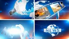 广播新闻设计包装动画AE模板
