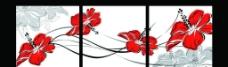 花卉无框画图片