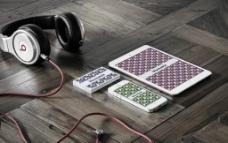 桌面耳机手机素材图片