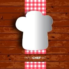 厨师帽海报