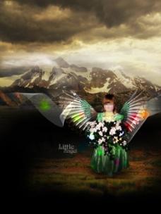 小天使海报