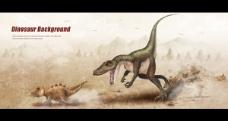 卡通恐龙海报