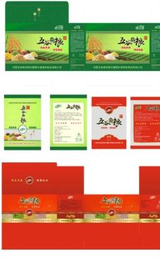 五谷杂粮包装设计图片