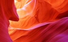 羚羊峡谷彩色岩石图片
