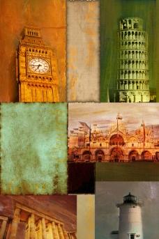 欧美风格装饰画图片