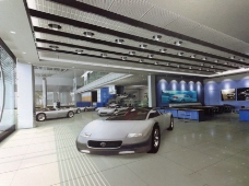 汽车专卖店3d