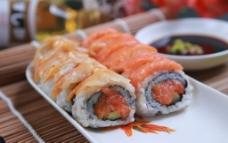 三文鱼赤贝图片