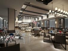 酒店空间设计3D模型素材