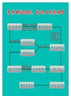 手术部位识别 标识工作流程图图片