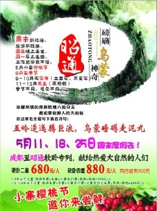 昭通旅游单页杂志海报dm图片