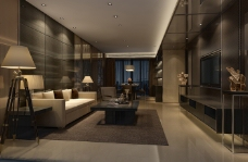 现代简洁客厅