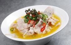 鲜椒酸汤江团图片