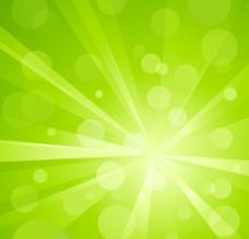 绿色光效背景 清新绿色背景图片