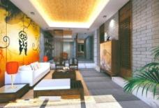 创意客厅模型设计