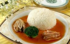 鲍鱼珍菌捞饭图片