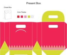 包装盒展开图图片