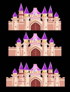 婚礼城堡kt板图片