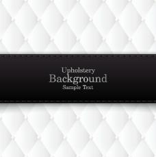 黑色标签白底背景矢量素材