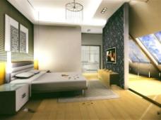 时尚现代卧室装饰