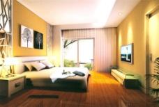 现代卧室装饰
