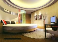 酒店房间设计模型