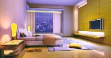 卧室家具设计模型