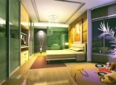 现代家居卧室装饰