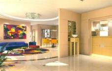 大厅模型设计