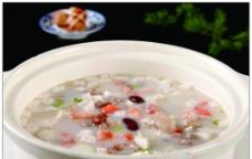 鲜虾煲多彩豆图片