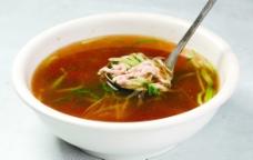 榨菜肉丝汤图片