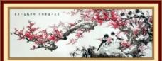 梅花喜鹊图片