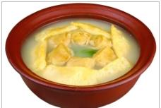 蛋饺百叶砂锅图片