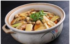 砂锅酱葱三文鱼头图片