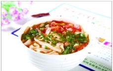 素汤面图片