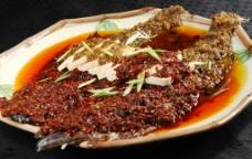 双椒蒸鲽鱼图片
