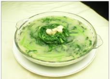 水煮黄地菜图片