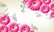 花边花纹3D背景墙