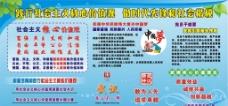 中国梦社会主义展板