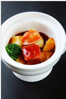 酱烧鲍鱼肉图片