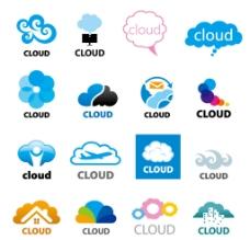 创意云形标志图片