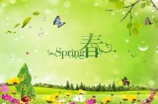 春天促销海报