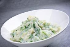 青菜土豆泥图片