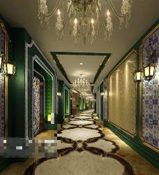 KTV酒吧设计场景3D模型素材