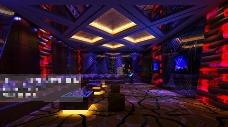 酒吧桑拿场景设计3D模型素材