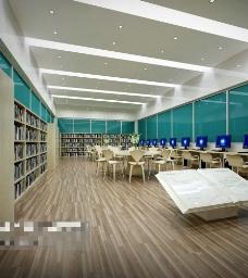 办公场所设计素材3D模型素材