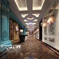KTV酒吧场景设计3D模型素材