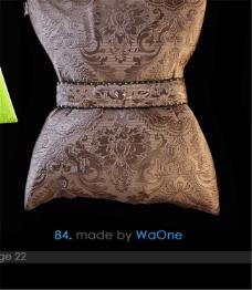 花纹在投设计3D模型素材
