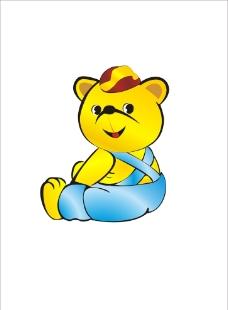 回头一笑的熊图片
